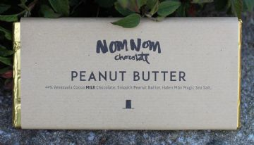 Peanut Butter - Bar Siocled NomNom | NomNom Chocolate (3)